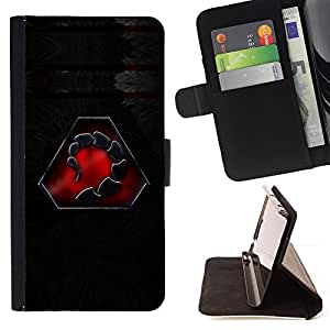 Jordan Colourful Shop - Scorpion Faction For Samsung Galaxy S4 Mini i9190 - < Leather Case Absorci????n cubierta de la caja de alto impacto > -