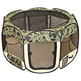 BestPet Pet Tent Exercise Pen Playpen Dog Crate XS