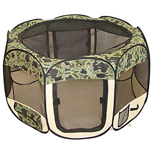 BestPet New Pet Dog Cat Tent Playpen Exercise Play Pen Soft Crate