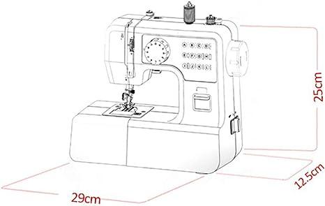 Máquina de coser portátil con lámpara de 12 puntadas Máquina de ...
