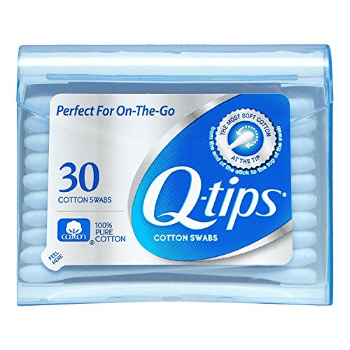 Q-tips Purse Pack - Q-tips Swabs Purse Pack, 30 each (Pack of 5)