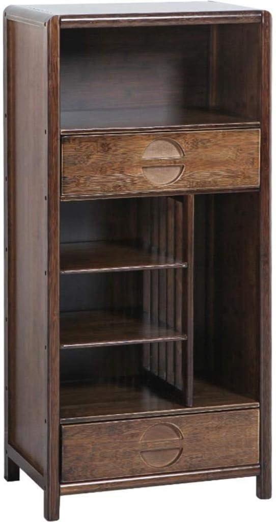 ストレージ本棚、木製本棚と表示棚、オフィスホームのための自立キャビネットユニット
