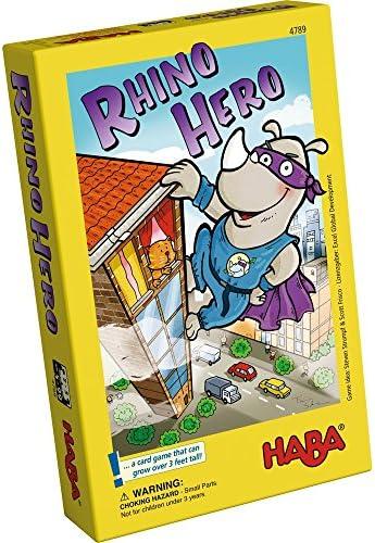 HABA 4789 Rhino Hero, Multicolor: Amazon.es: Juguetes y juegos