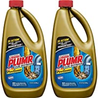 Liquid-Plumr Pro-Strength Full Clog Destroyer Plus PipeGuard, 32 oz Bottles - 2 Pack
