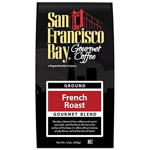 San Francisco Bay Coffee, French Roast- Ground, 12 Ounce