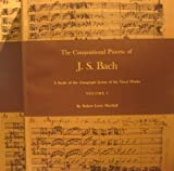 The Compositional Process of J. S. Bach, Marshall, Robert Lewis, 0691091137