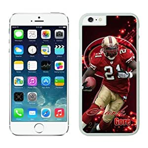 San Francisco 49ers Frank Gore Case Cover For HTC One M8 NFL Cases White NIC13904