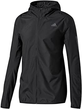 Adidas Mens Running Hooded Wind Jacket
