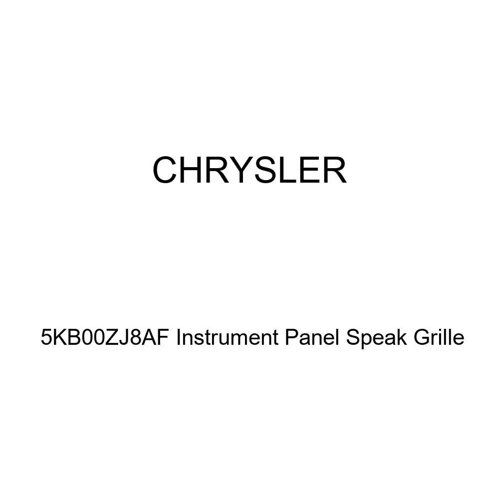 Genuine Chrysler 5KB00ZJ8AF Instrument Panel Speak Grille