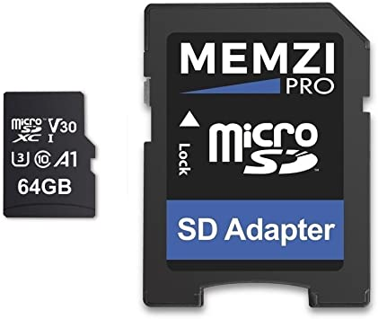 FULL HD Recording 64GB Micro SD Card Memory Card for Sports Action Camera