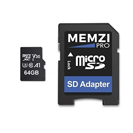 Memzi 64 GB Micro SDXC tarjeta de memoria para GoPro Cámaras ...