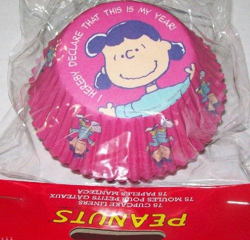 Peanuts Lucy Van Pelt Pkg 75 Cupcake Liners for Any Party, Shower for $<!--$9.99-->