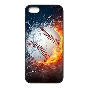 Customized Baseball Cell Phone Case for Iphone 5,5S with The love of baseball _9786814