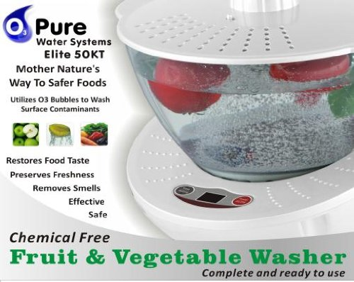 O3 Pure Elite 50 Kt Fruit & Vegetable Washer System by O3 Pure (Image #1)'