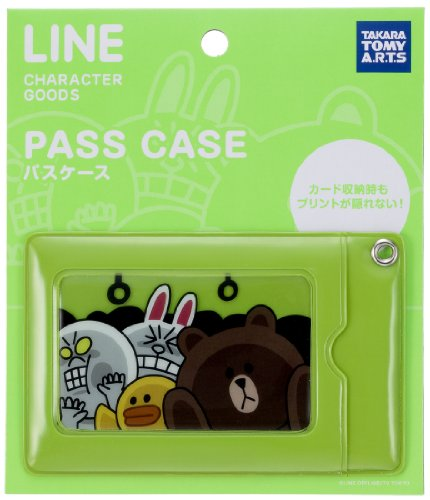 LINE CHARACTER Card Case Pass Case