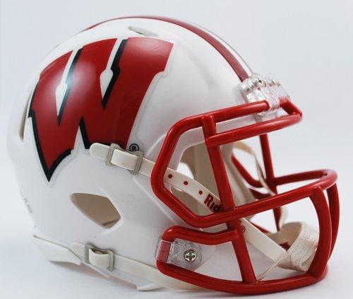 New Riddell Wisconsin Badgers Speed Mini Football -