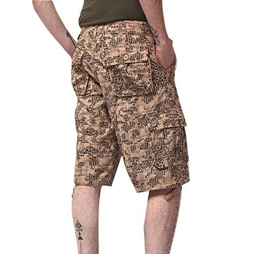 Sport L'été De Vêtements La Pantalons Estivale Travail Hommes Courts Cargo Beige Fête Pour Mode 7XnXwYPqST