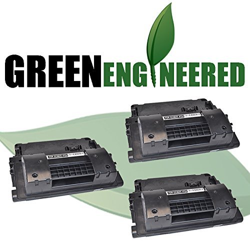 Cartridge Triple Pack (GreenEngineered HP CC364X (HP 64X) Remanufactured Black High Yield Laser Toner Cartridge Triple Pack for LaserJet P4015, P4515 Series)