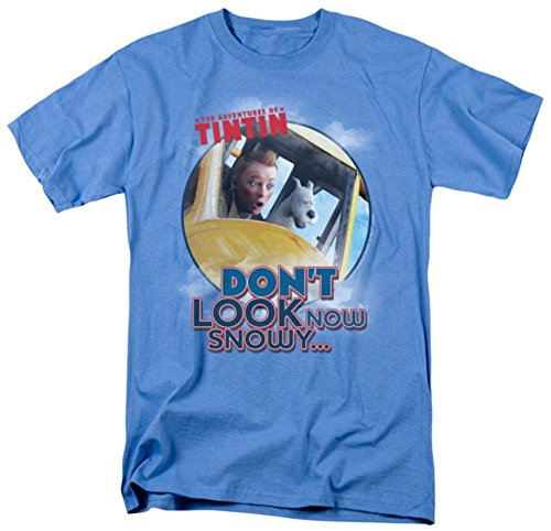 The Adventures of TinTin - Don't Look Now T-Shirt Size XL