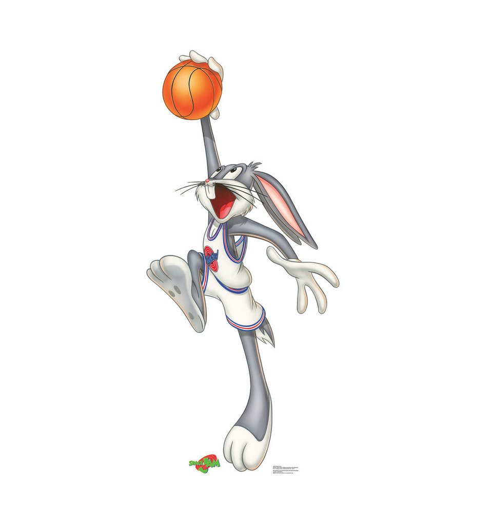Bugs Bunny - Space Jam - Advanced Graphics Life Size Cardboard Standup