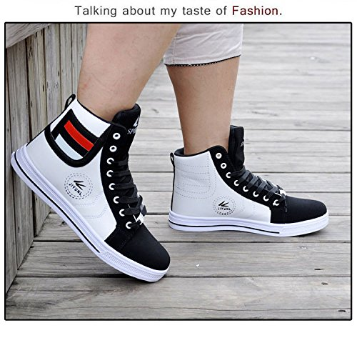 ab1c12dd0b7f5 Gaorui Lot Fashion Men Casual Shoe High Top Sport Outdoor Athletic Running  Sneaker Boot Gold - FrenzyStyle