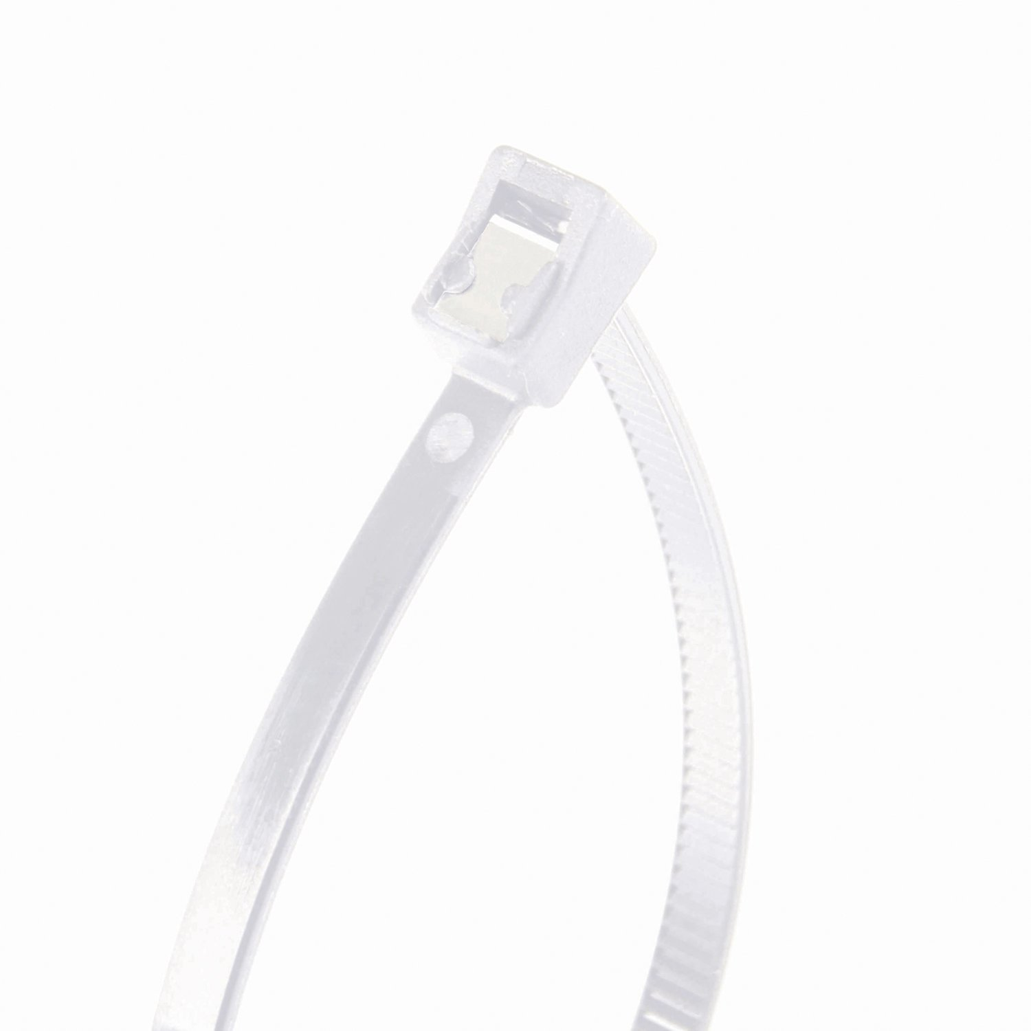 Tensile 50 lb 50 Pk. 11 inch Gardner Bender 46-311SC Nylon Self-Cutting Cable Tie Natural White GB Electrical Zip Tie Twist-Off Tail