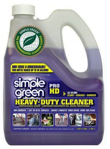 [해외]단순한 녹색 계약자 강도 1 갤런 병의 부식 방지 헤비 듀티 클리너 Degreaser/Simple Green Contractor Strength Non-Corrosive Heavy Duty Cleaner Degreaser in 1 gal Bottles