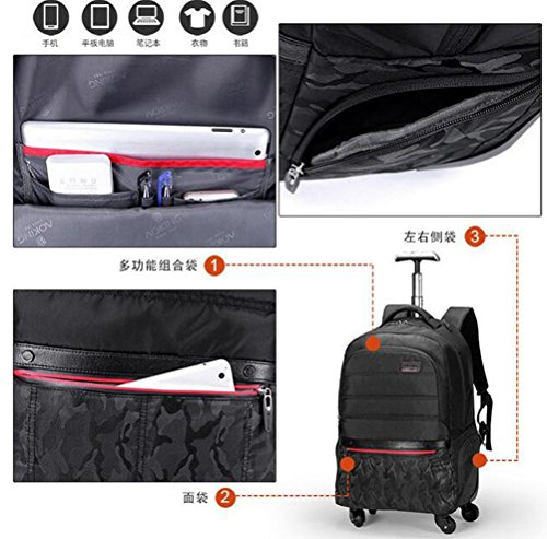Beibao Laptop Shop Trolley Lightweight Bag Business Rounds 002 4 Flying Approved Travel Backpack Waterproof YYq6T1r