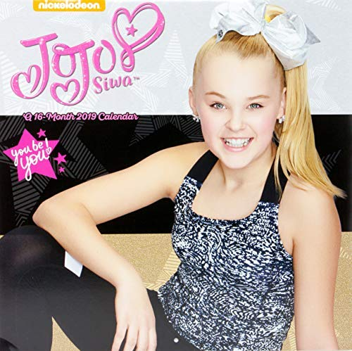 2019 JoJo Siwa Wall Calendar | Featuring JoJo in Different Outfit, Bows & Glamour Poses | 16 Months 12