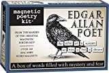 Magnetic Poetry - Edgar Allan Poet Kit - Words for Refrigerator - Write Poems and Letters on the Fridge - Made in the USA