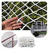 Child Safety net Outdoor White Protection Net Kids Stair Safe Netting Rail Balcony Banister Decor Net Fence Climbing Woven Rope Truck Cargo Trailer Netting Playground Climbing Hammock Swing Rope Net