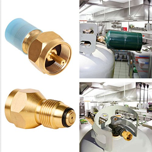 USA Premium Store Refill Adapter Lp Gas 1 Lb Cylinder Tank Coupler Heater Bottles Coleman