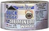 Cofair WQR325 Quick Roof Pro Aluminum White 3'' x 25'