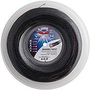 YTEX Quadro Twist Black 16L/1.26mm Tennis String Reel 660 ft   #1 for Spin