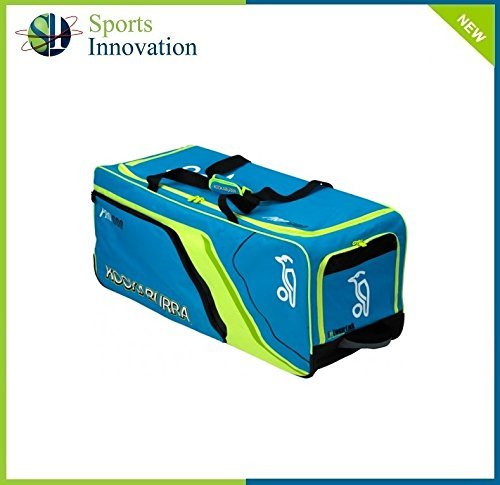 Kookaburra Pro 600 Wheelie Cricket Bag 2015 Blue/Green by Kookaburra by Kookaburra