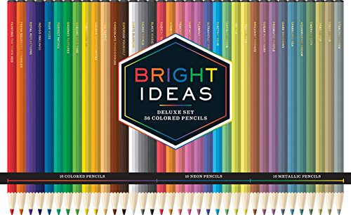 Bright Ideas Deluxe Set: 36 Colored Pencils