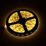 5M 2835 SND 300leds LED Strip Lights Waterproof IP65 Flexible LED Tape for Party Christmas Garden Cabinet DIY Household Decoration lights - Warm White