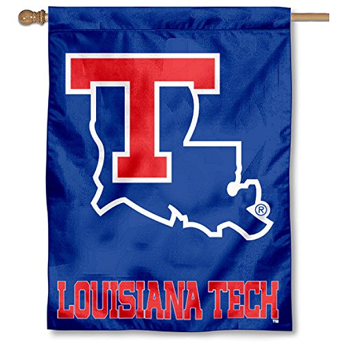 Louisiana Tech University LA Tech Bulldogs House Flag