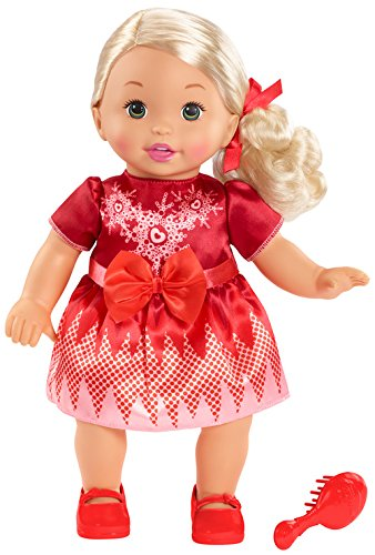 Mattel Little Mommy Sweet As Me Holiday Doll