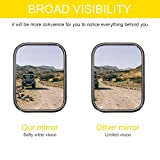 CALBEAU Jeep Mirrors, A Pair of Square Adventure