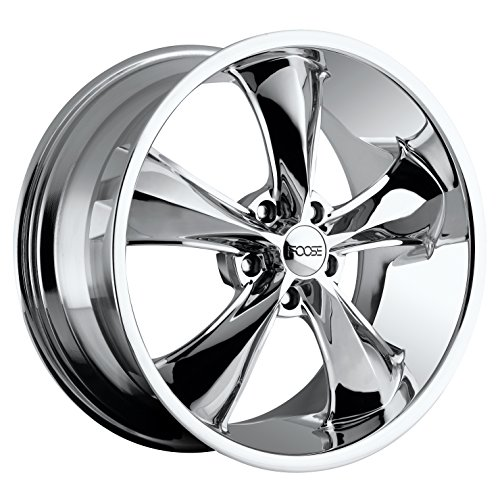 Foose Legend 17x7 Chrome Wheel / Rim 5x4.75 with a 1mm Offset and a 72.6 Hub Bore. Partnumber F10517706140 ()