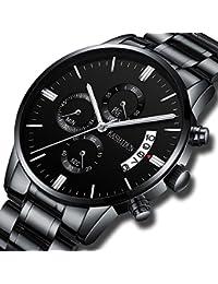 Men's Watches Luxury Sports Casual Quartz Wristwatches...