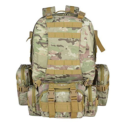 Waterproof outdoor camping hiking bag Tactical Waist Bag CP - 2