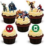 35 Marvel DC Superheroes stand up Cha...