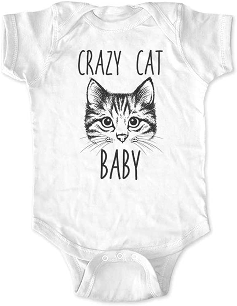 CafePress Crazy Cat Lady in Training Long Sleeve Infant Body Cute Long Sleeve Infant Bodysuit Baby Romper