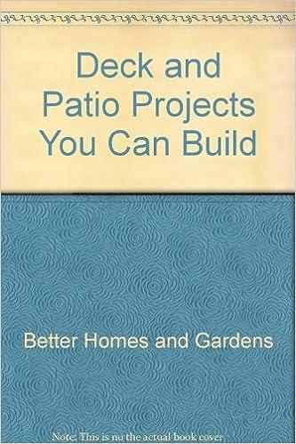 Decks And Patios: Plus Other Outdoor Projects: Kent Keegan, Pamela Keegan,  Dennis Getto, Eric Brubaker: 9780932944160: Amazon.com: Books