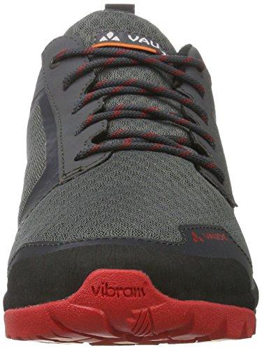 VAUDE Men's Tvl Active, Zapatos de Low Rise Senderismo para Hombre Gris (Iron)