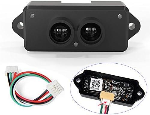 0.3-12m Indoors Lidar Range Finder Sensor Module, TFmini Single-Point Micro Ranging Module, Lidar Detectors with Cable for Arduino Raspberry Pi Pixhawk Drone