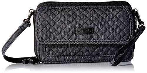 Vera Bradley Iconic Rfid All in One Crossbody-Denim Navy