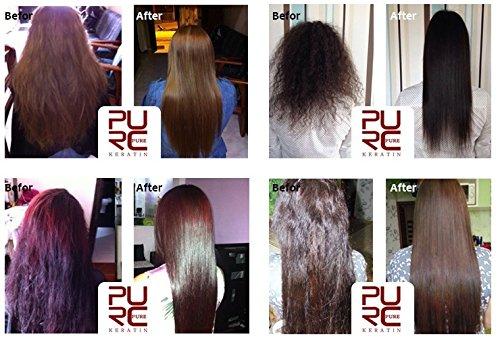 Amazon.com : Tratamiento de keratina para el cabello/ Hidratacion profunda libre de formaldehido/ Shampoo y acondicionador GRATIS con la compra/ Tener el ...